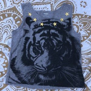 Express tiger muscle tank